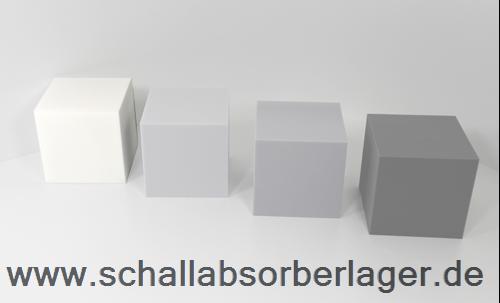 Schallabsorber Würfel 30 x 30 x 30 cm